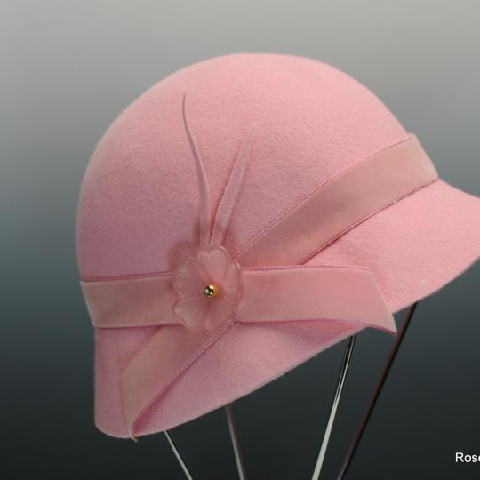 Girls' wool felt hat
